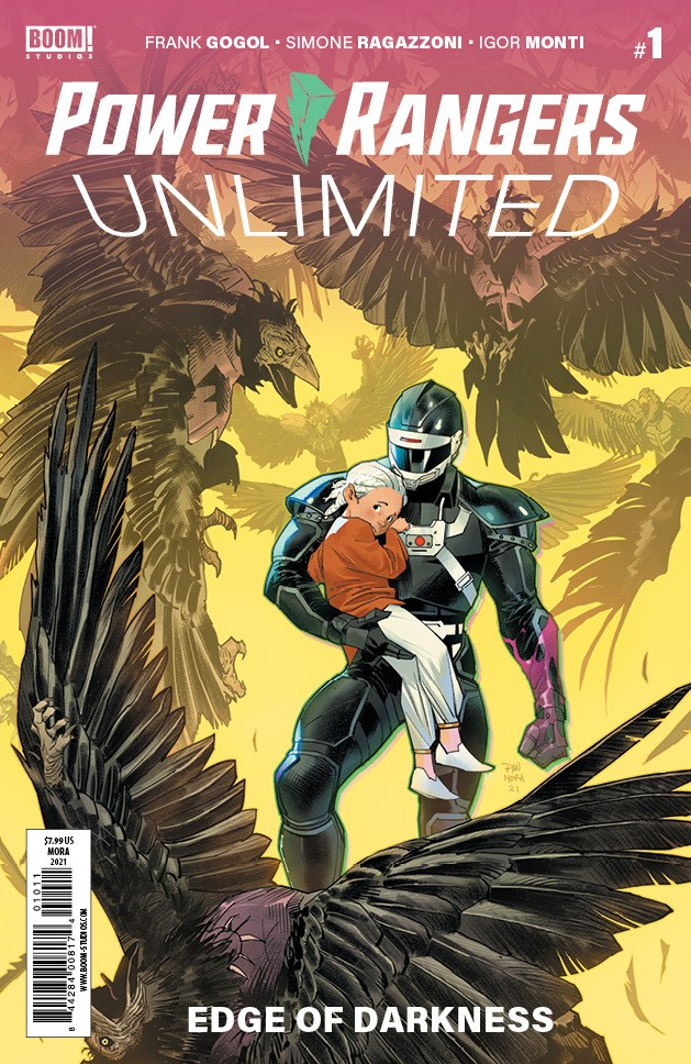 Power Rangers Unlimited: Edge of Darkness #1