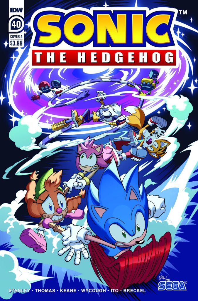 Sonic the Hedgehog #40