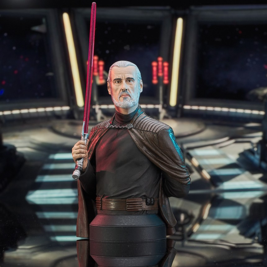 Star Wars Revenge of the Sith Count Dooku 1/6 Scale Mini-Bust