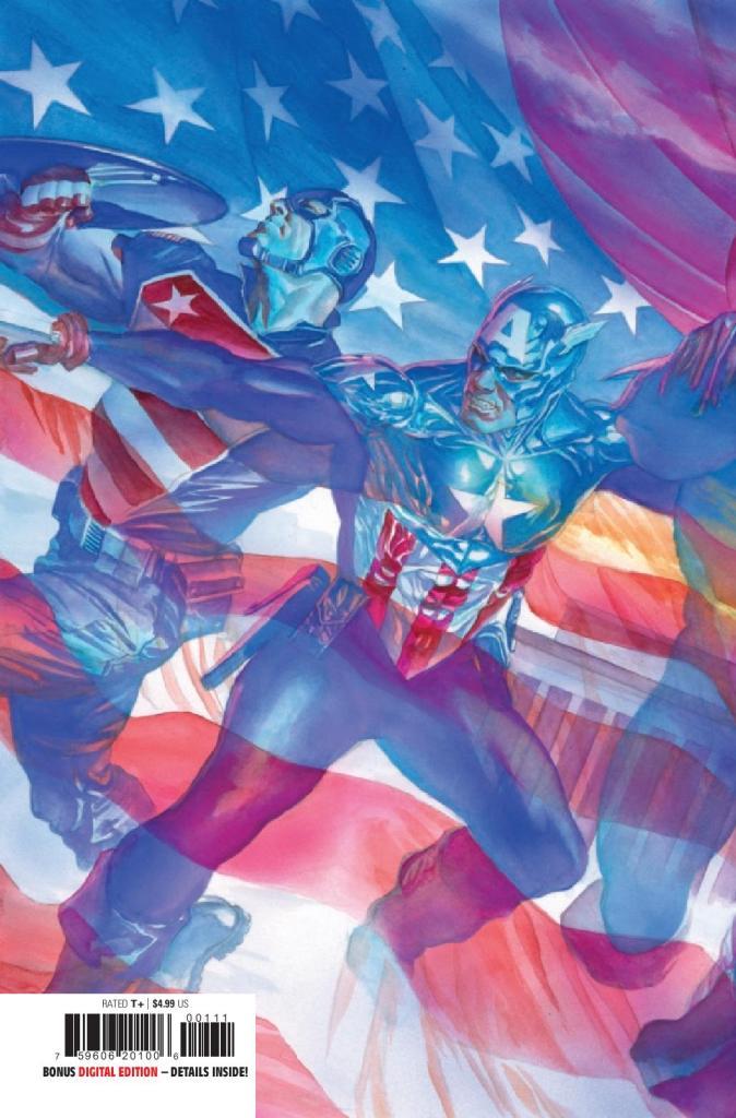 United States Captain America #1 (of 5)
