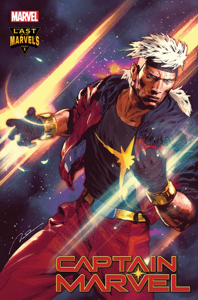 Captain Marvel #33 Gerald Parel variant