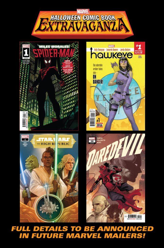 Marvel Halloween Comic Book Extravaganza