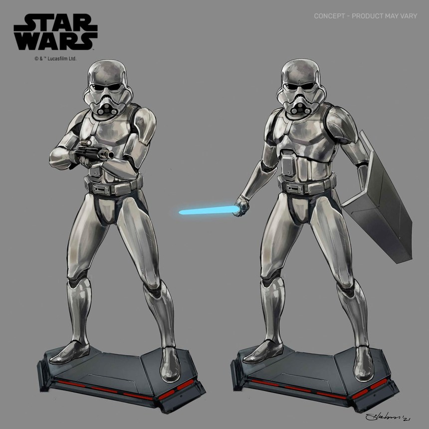 Star Wars Concept Stormtrooper Premier Collection 1/7 Scale Statue