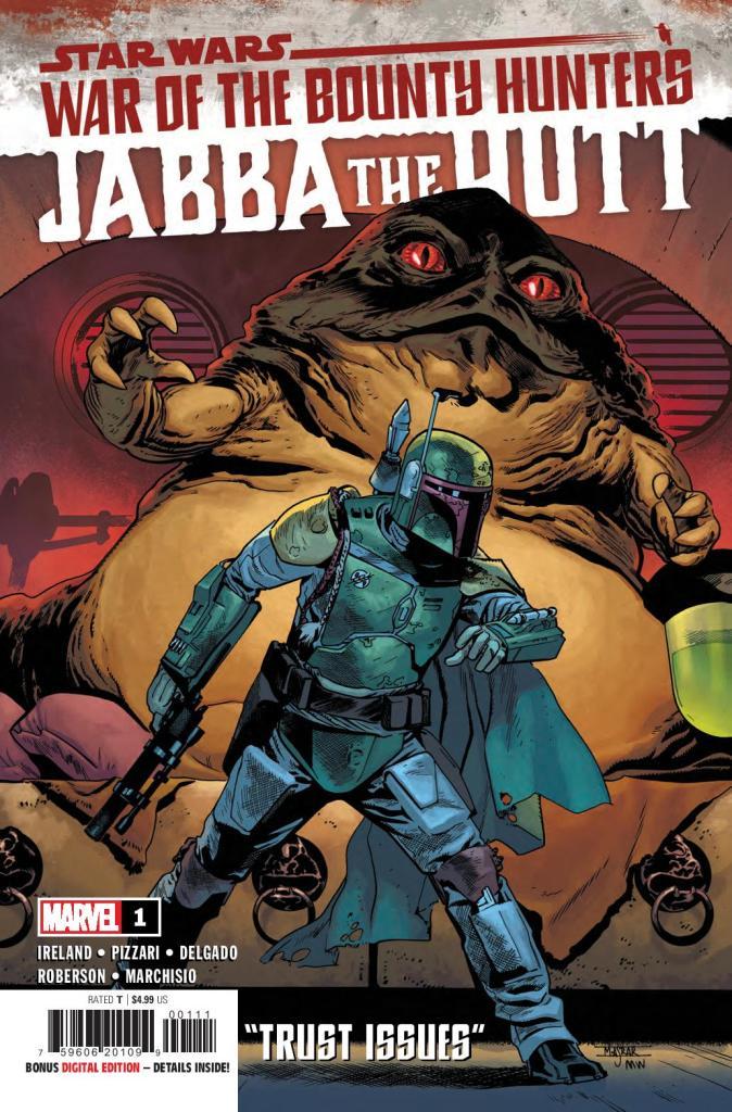 Star Wars: War of the Bounty Hunters: Jabba the Hutt #1