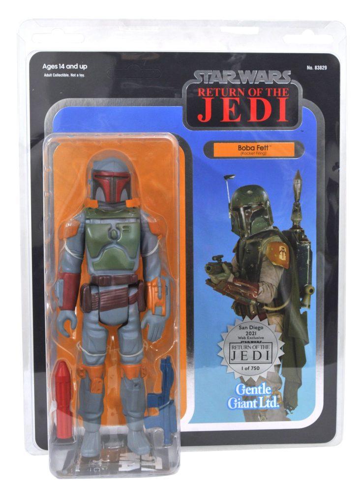 San Diego Exclusive Star Wars The Return of the Jedi 40th Anniversary Boba Fett Jumbo Figure