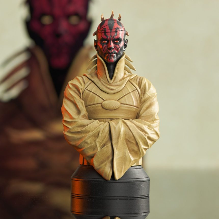 San Diego Exclusive Star Wars Darth Maul Concept 1/6 Scale Bust