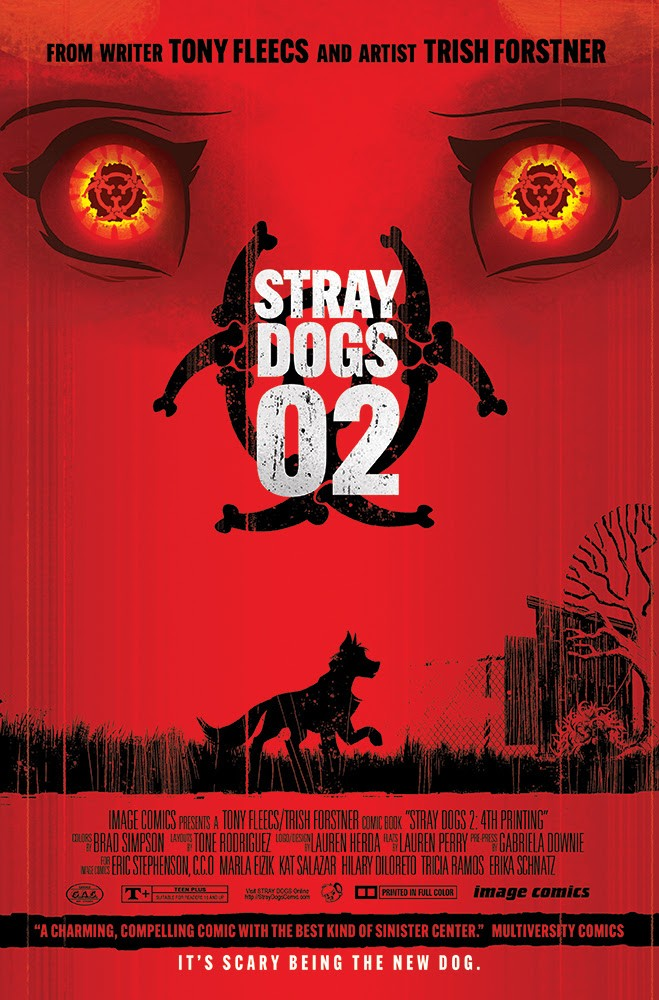 Stray Dogs #2 fourth printing