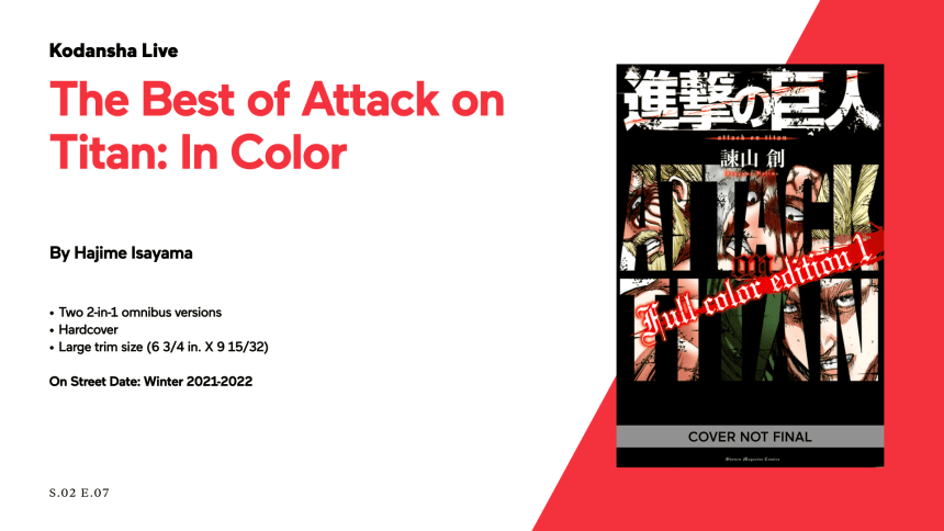 The Best of Attack on Titan: In Color