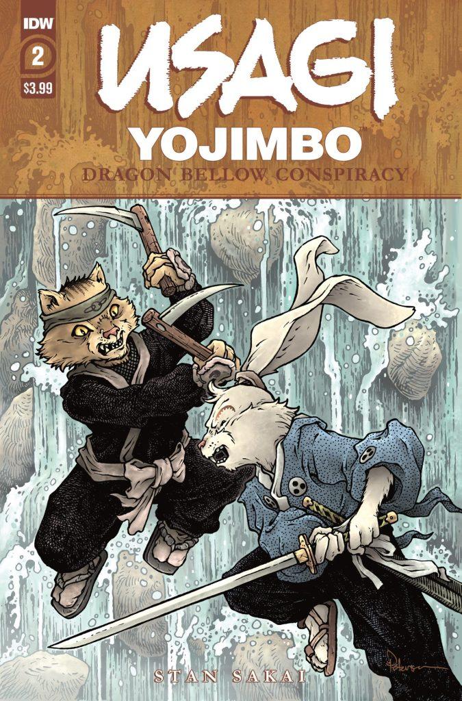 Usagi Yojimbo: Dragon Bellow Conspiracy #2 (of 6)