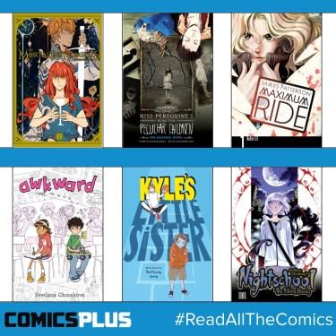 Yen Press, Comics Plus