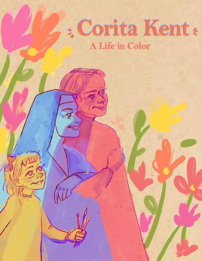 A LIFE IN COLOR: A COMIC ABOUT CORITA KENT