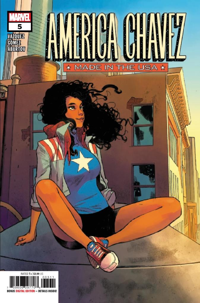 Amercia Chavez: Made in the USA #5 (of 5)