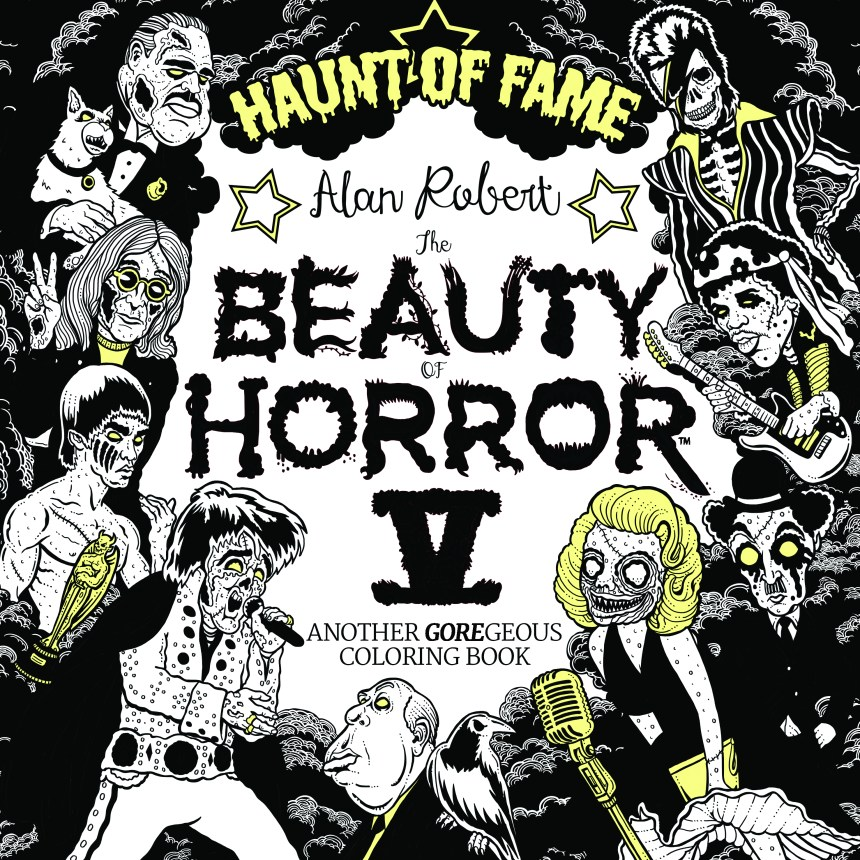 Beauty of Horror Coloring Book Vol. 5 Haunt of Fame