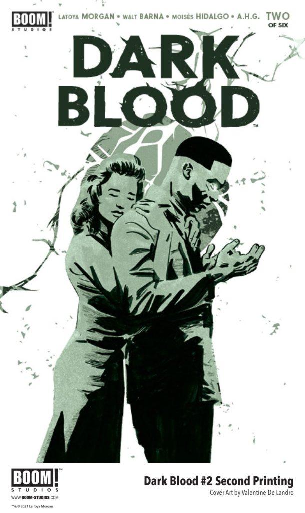Dark Blood #2 Second Printing