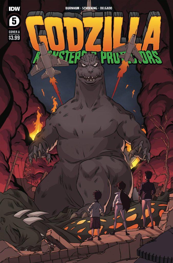 Godzilla: Monsters & Protectors #5 (of 5)