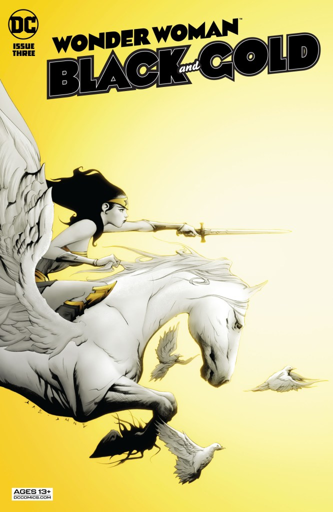 Wonder Woman: Black & Gold #3