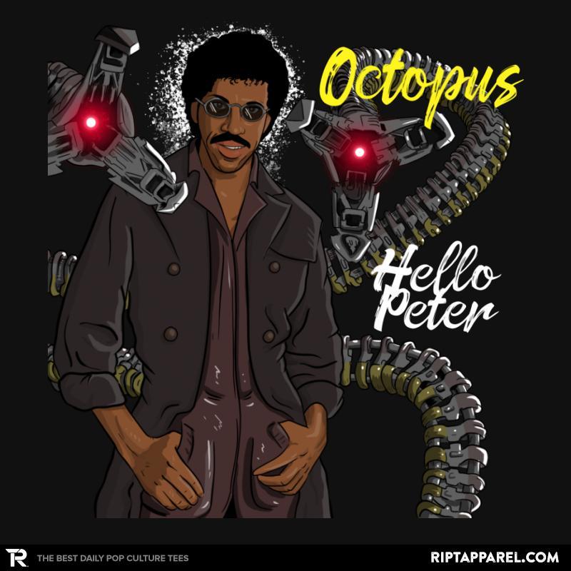 Octopus Hello Peter
