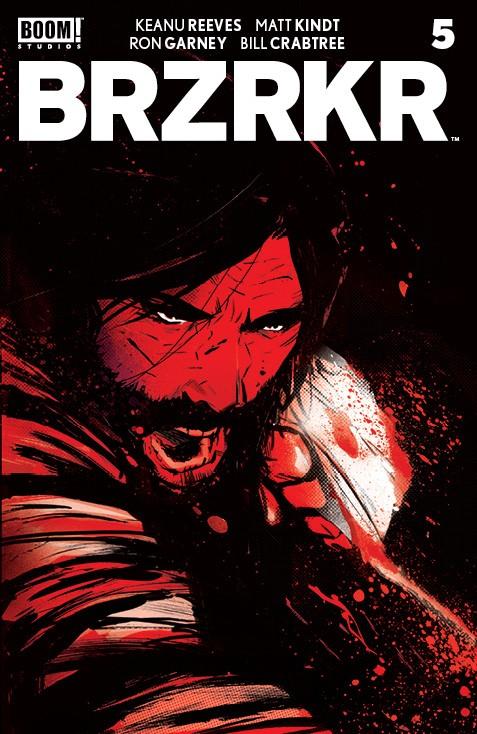 BRZRKR #5 (of 12)