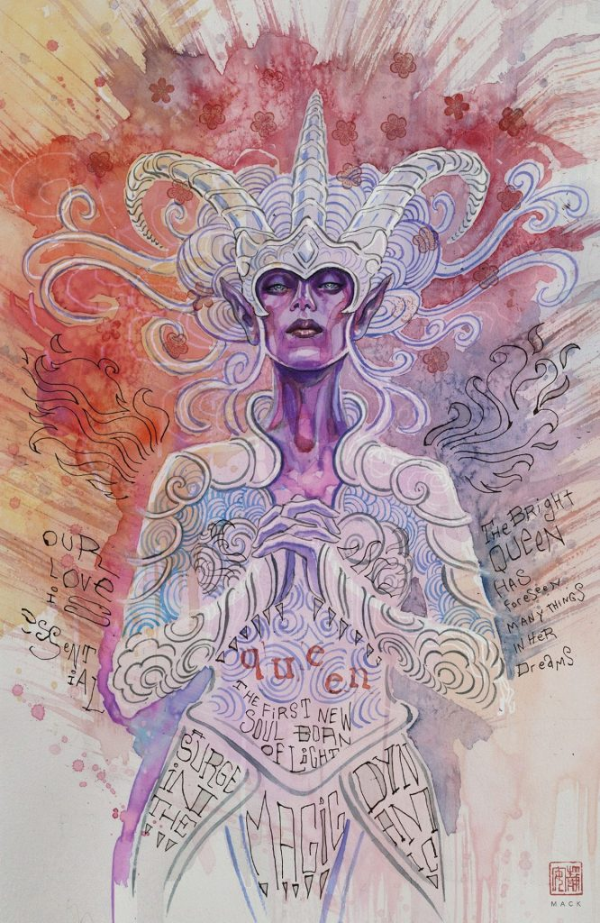 Critical Role: The Tales of Exandria David Mack Cover