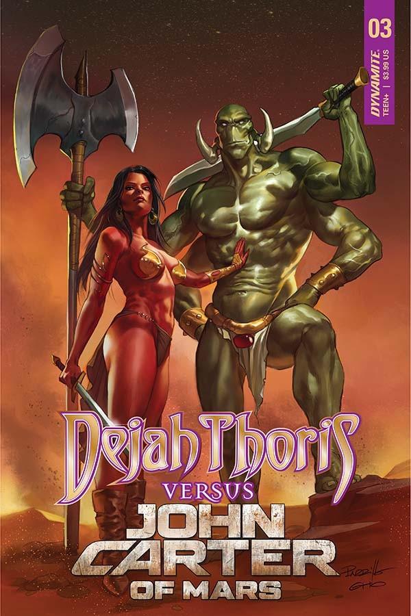 Dejah Thoris vs John Carter of Mars #3