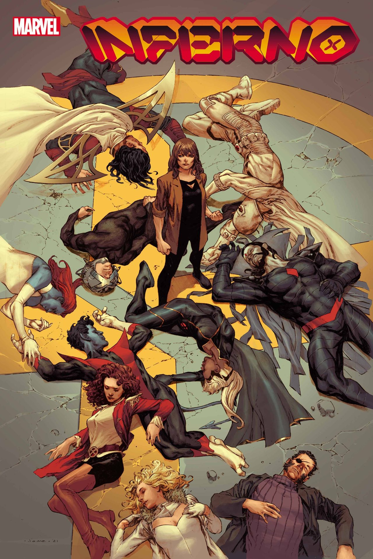 Preview: Inferno #1 (of 4) - Graphic Policy