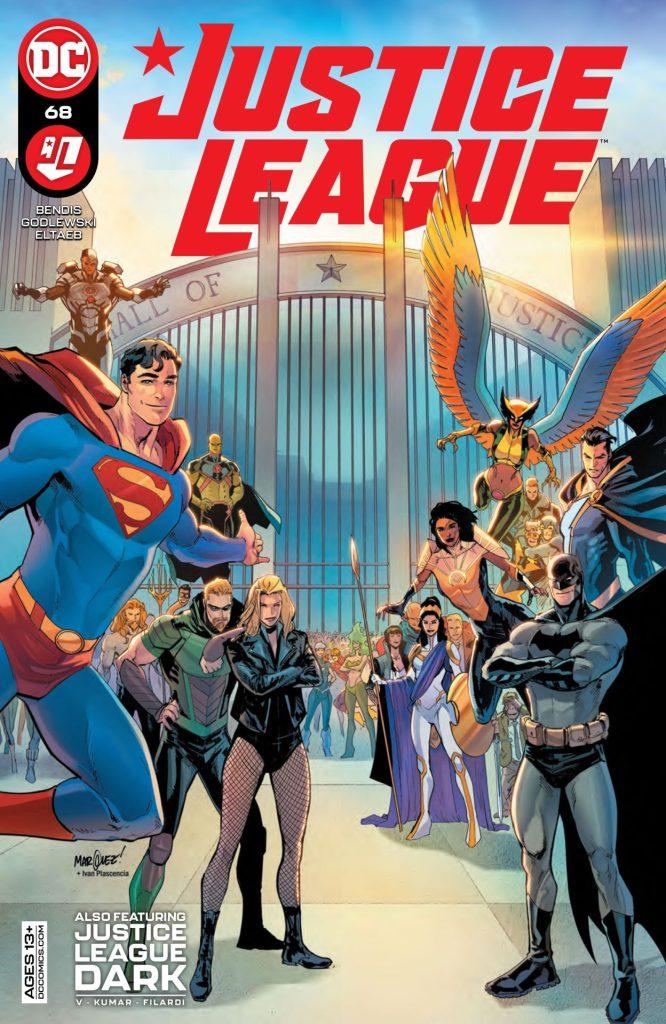 Justice League #68