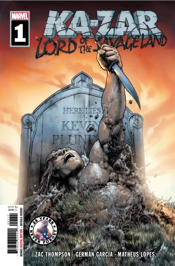 Ka-Zar: Lord of the Savage Land #1 (of 5)