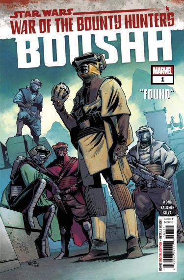 Star Wars: War of the Bounty Hunters – Boushh #1