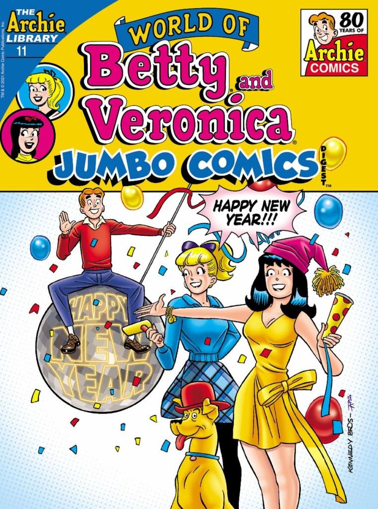 WORLD OF BETTY & VERONICA JUMBO COMICS DIGEST #11