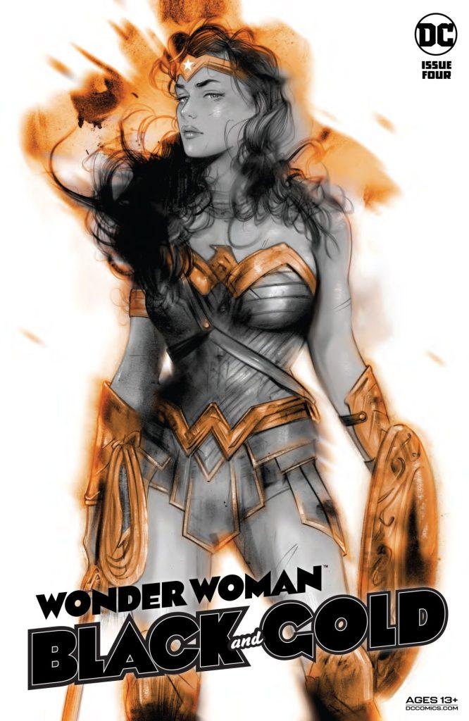 Wonder Woman: Black & Gold #4