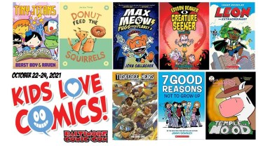 Baltimore Comic Con Kids Love Comics Pavilion