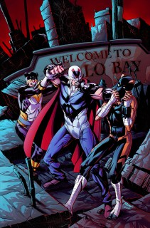 ACTIONVERSE #1: MIDNIGHT TIGER Ray-Anthony Height (Art) Nate Lovett (Color)