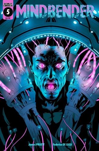 Mindbender 5 cover Federico De Luca- Diamond