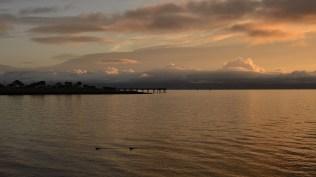 Sunrise over SF Bay, So. San Francisco, CA