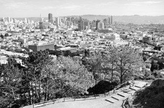 Downtown SF from Corona Heights
