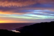 Setting Sun - Marin Headlands