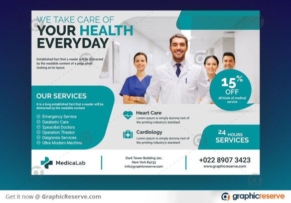 Pharmacy Promotional Eddm Postcard