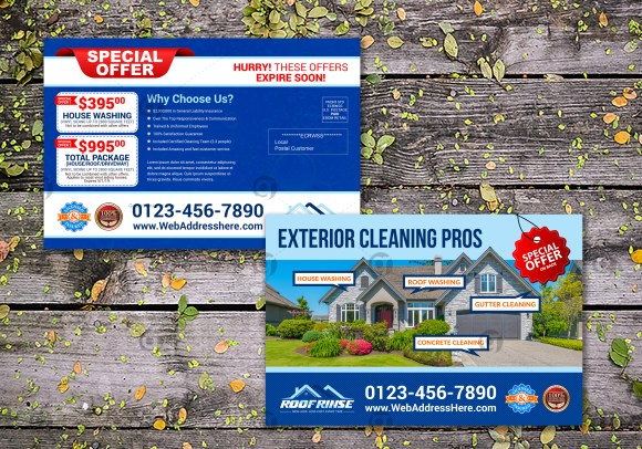 Cleaning Service Eddm Postcard 2