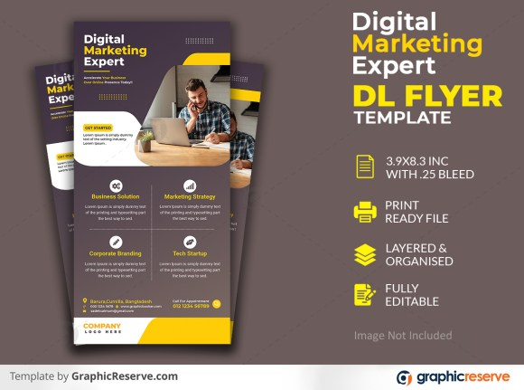 Digital Marketing Expert Dl Flyer