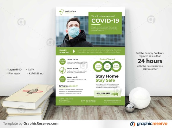 Modern Medical Medical Flyer Templates
