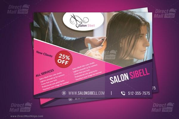 Salon Sibell EDDM Postcard (GPH) #03