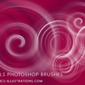 Photoshop brush Swirls