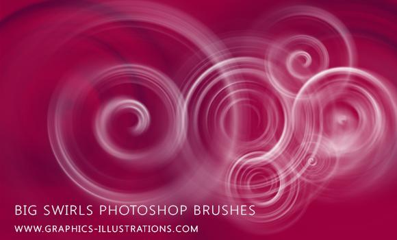 Photoshop swirls brushes