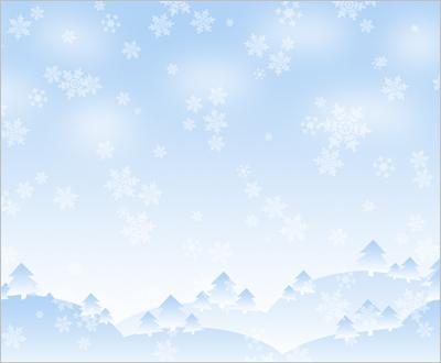 Winter scene, Photoshop tutorial