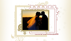Free Wedding Scrapbook Quick Page