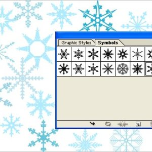 Free Download Adobe Illustrator Symbols – Snowflakes
