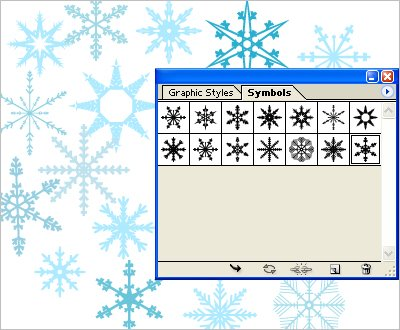Free Download Adobe Illustrator Symbols Snowflakes