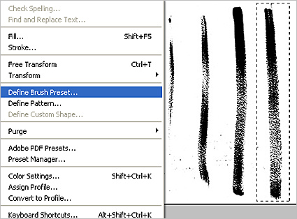 How to create your own custom brush in PhotoShop
