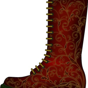 Photoshop Brushes on Boots