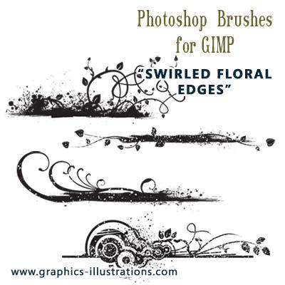 Using Photoshop brushes in GIMP